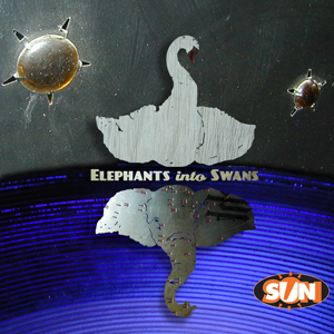 Sun Sawed in 1/2 Elephants into Swans album image